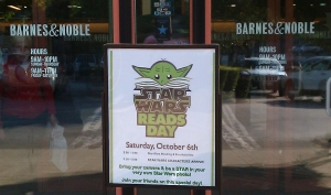 Promoting reading through Star Wars Books