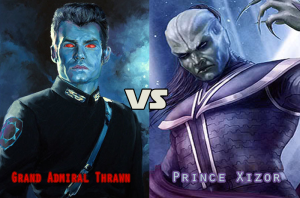 Thrawn vs Xizor